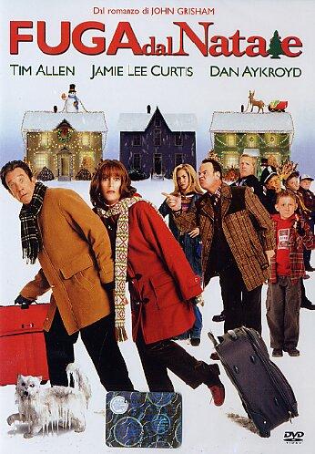 Locandina del film Fuga dal Natale di Joe Roth con Tim Allen e Jamie Lee Curtis