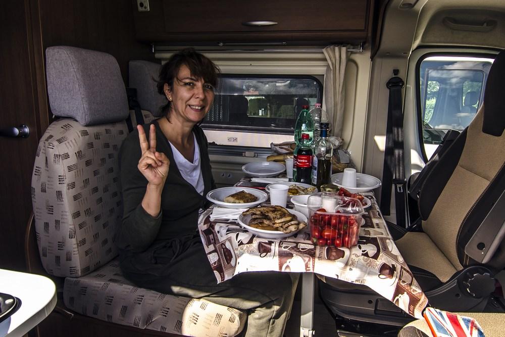 Piccola cena di saluto alla splendida Francia
