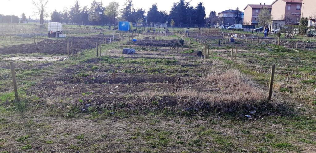 Il nostro orto prima della vangatura
